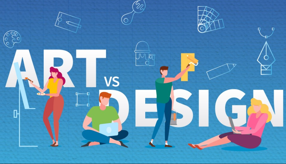 Difference Between Art and Design