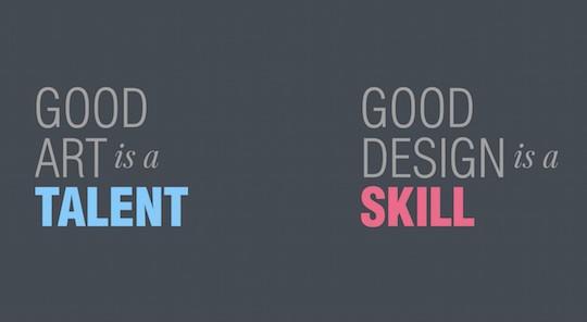 talent and skill